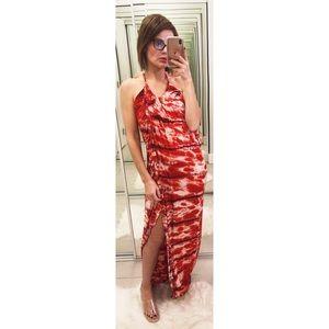 Young Fabulous & Broke Lexie Maxi Dress Tie Dye